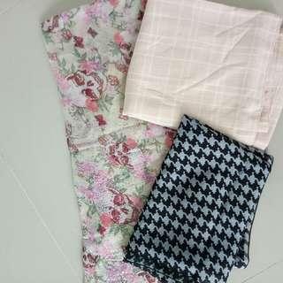 3 shawl/ pashmina only 25k