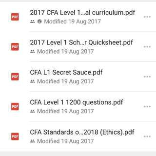 cfa level 1 study material free download 2015 pdf
