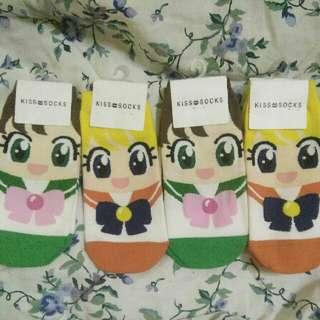Sailormoon socks limited stocks available left