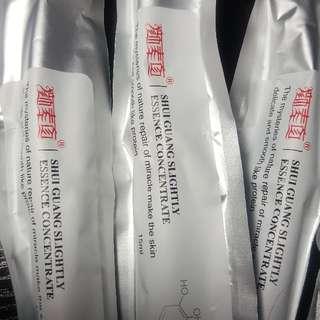 💠現貨馬上出(買5送1)💠(正品)顏素真塗抹式水光精華 收缩毛孔 安瓶定妝 精華液玻尿酸原液