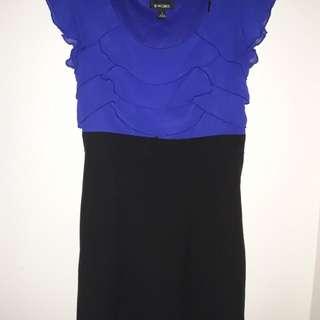 Formal dress / blue & black
