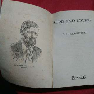 Son's and Lovers by D.H.Lawrence