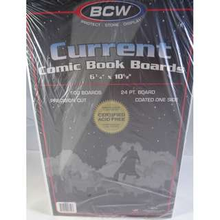 1 X 100 Current Size Comic Book Bags & Boards Combo Bundle Manila Philippines collection supplies