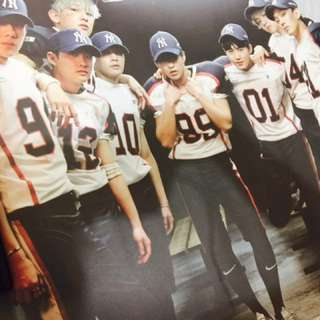 EXO Love Me Right posters