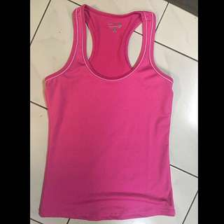FOS Active Pink Yoga Dry Fit Top