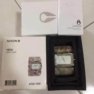 Nixon Vega Mint Julep Watch - Pre-loved