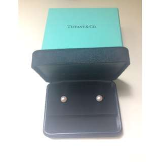 Tiffany & Co Pearl Earrings