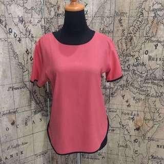Atasan Blouse Pink