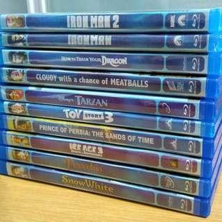 DVDs [list 4]