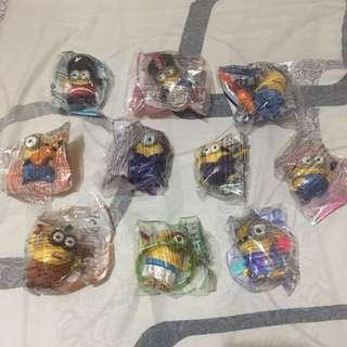 Minions Mcdo Happy Meal Toys