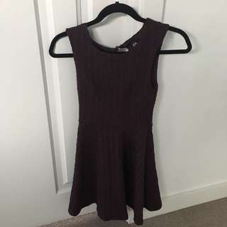 Purple Dotti dress size 6