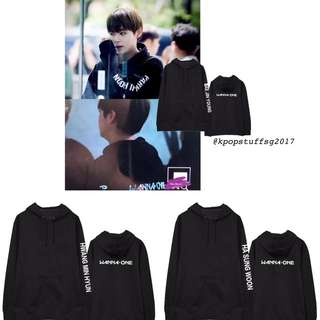 Po Wanna One Individual Member Hoodie