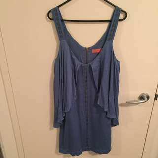 Wish Blue Embellished Dress