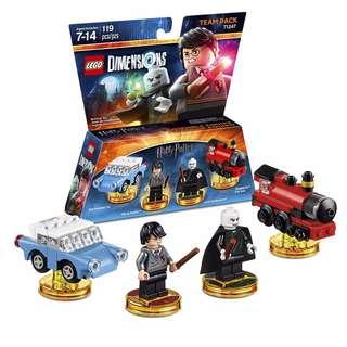 LEGO Dimensions 71247 - 71245 - 71248 - 71251