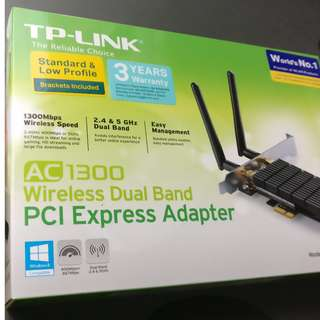 TP link Archer T6E PCI express adapter
