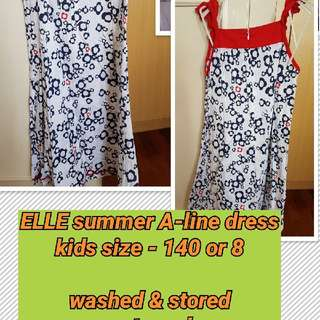 ELLE a-line summer dress
