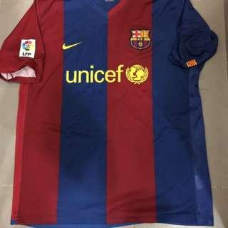 中古 FCBarcelona Nike 巴塞隆拿