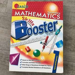 CASCO MATHEMATICS Skills Booster - Sec 1 Express/ Special