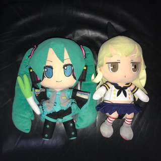 Hatsune Miku & Shimakaze (2 plush)