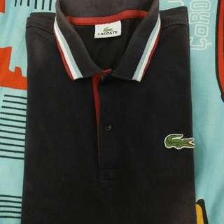 polo shirt lacoste size 4 setara L
