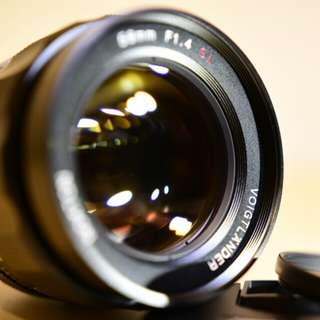 """福倫達 Voigtlander 58mm f/1.4 SL II ai-s """"鳳凰瞳"""" 手動 Nikon鏡頭"""