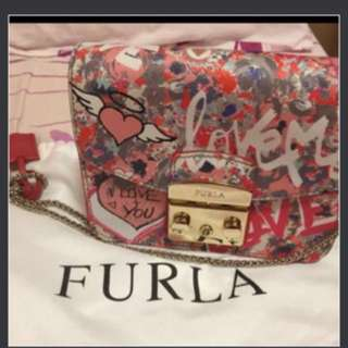 Authentic Furla Crossbody Bag