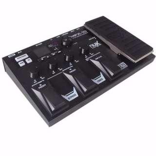 NUX MFX-10 Multi-Effects Processor Guitar Pedal (black)