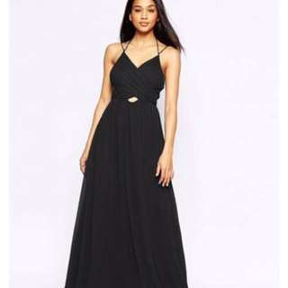 Black ball dress from ASOS