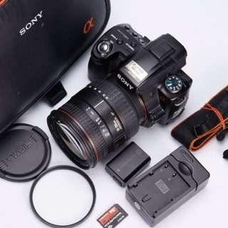 【售】Sony a33 公司貨+ Sigma 28-200mm f3.5-5.6 macro 旅遊鏡