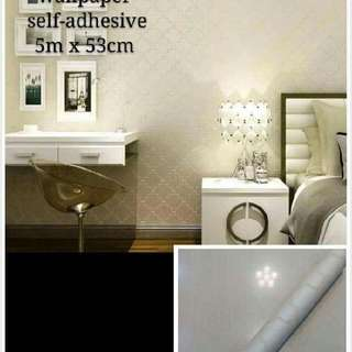 self adhesive 3D wallpapers