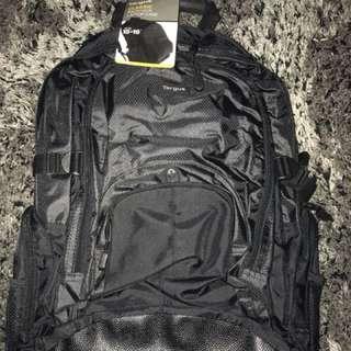 Targus black laptop back pack