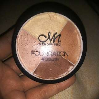 MN Menow Pro Foundation 4 color