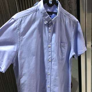 ZARA BLUE SHIRT (M)
