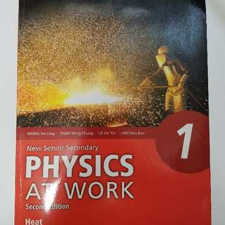 (phy 書)New senior secondary physics at work second edition heat