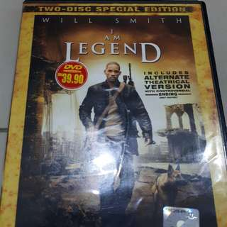 ORI English Movie DVD (I Am Legend) #postforsbux