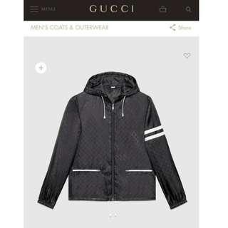 Gucci Windbreaker - Black