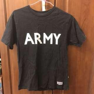 🚚 二手neighborhood 黑色t -shirt