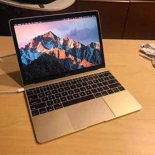 """MacBook 12"""" Gold (2016) - High Spec m7 CPU"""