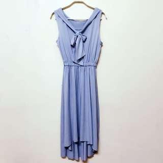 超美色藍洋裝