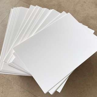 Blank Flash Card (250gsm-A5-200 Sheets)