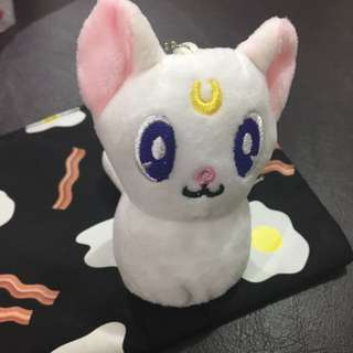 Sailor Moon Artemis Neko Cat Keychain