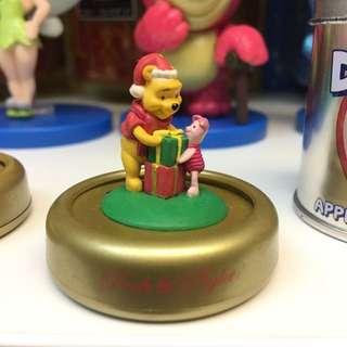 小熊維尼 豬仔 聖誕 擺設