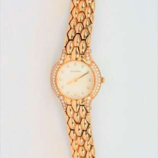 Bucherer 18k Gold Lady Watch