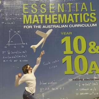 Essential Mathematics Year 10 & 10A