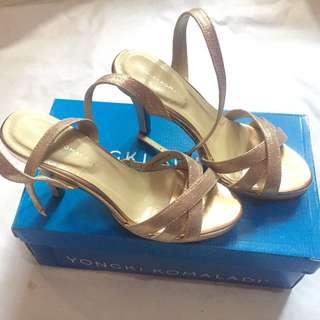 High heels yongki rosegold