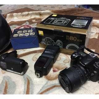Nikon D80 fullset