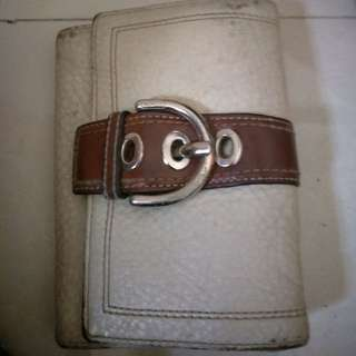 dompet coach kulit asli