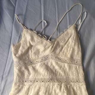 white Abercrombie sundress
