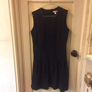 ESPRIT 黑色削肩洋裝