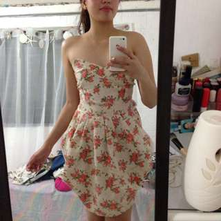 Floral Dress (Good Quality)